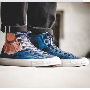 CONVERSE Woven Graphic Mountain Classic Hightops